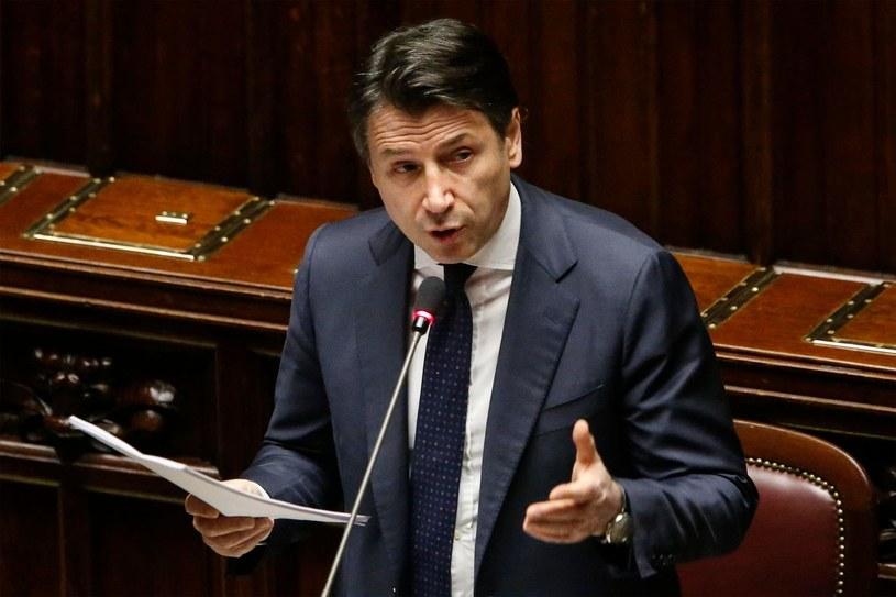 Giuseppe Conte, premier Włoch /AFP