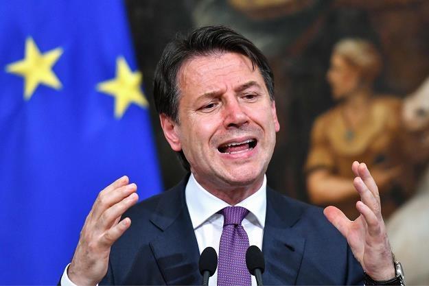 Giuseppe Conte uderza w strefę euro? /AFP