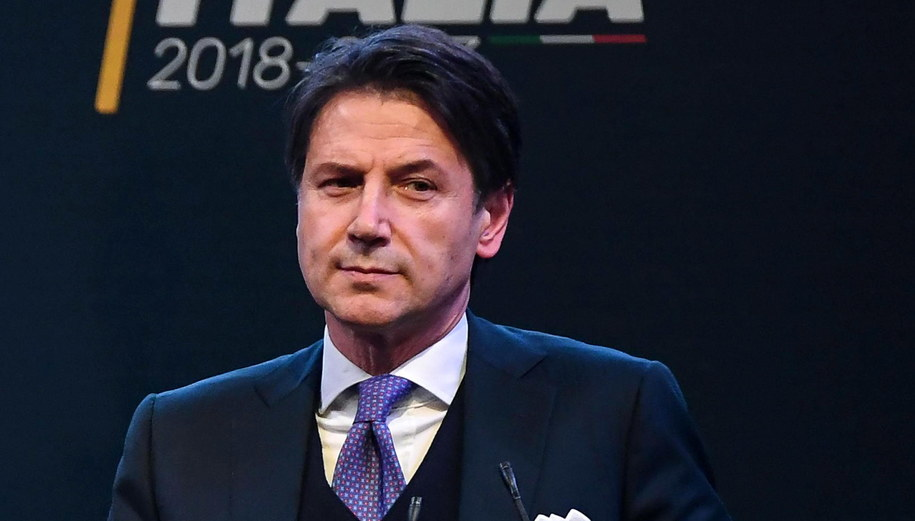 Giuseppe Conte /PAP/EPA