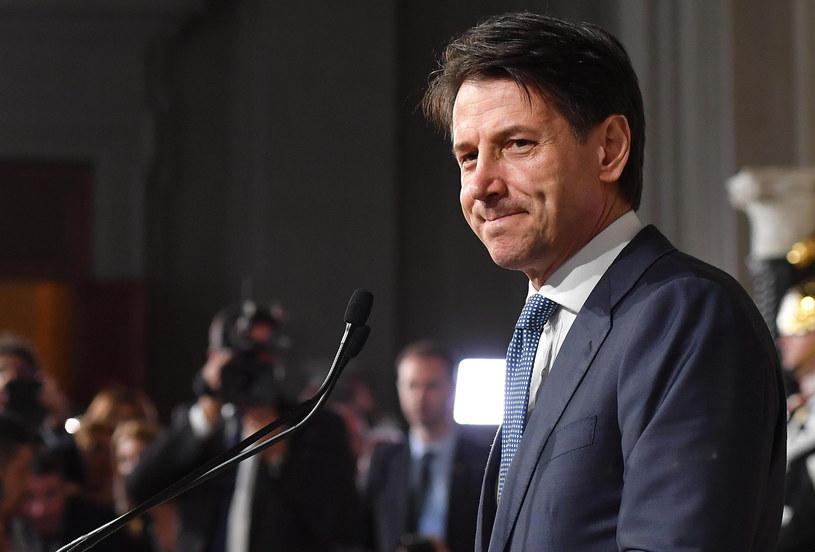 Giuseppe Conte /ETTORE FERRARI /PAP/EPA