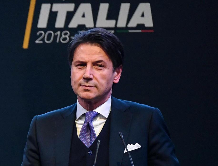 Giuseppe Conte /ALESSANDRO DI MEO /PAP/EPA