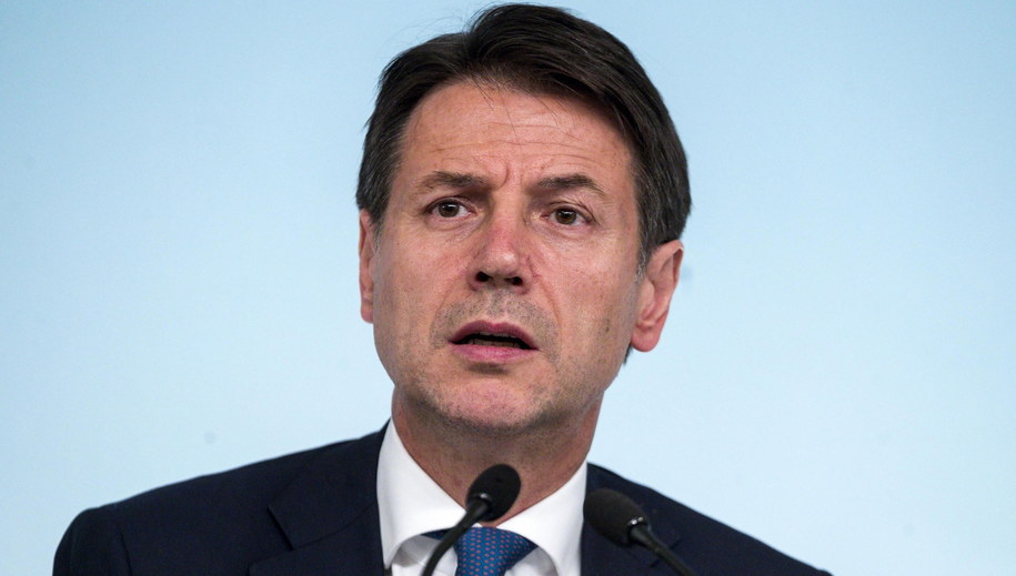 Giuseppe Conte /ANGELO CARCONI /PAP/EPA