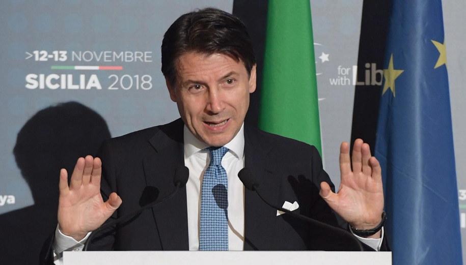 Giuseppe Conte /FILIPPO ATTILI / CHIGI PALACE PRESS OFFICE  /PAP/EPA