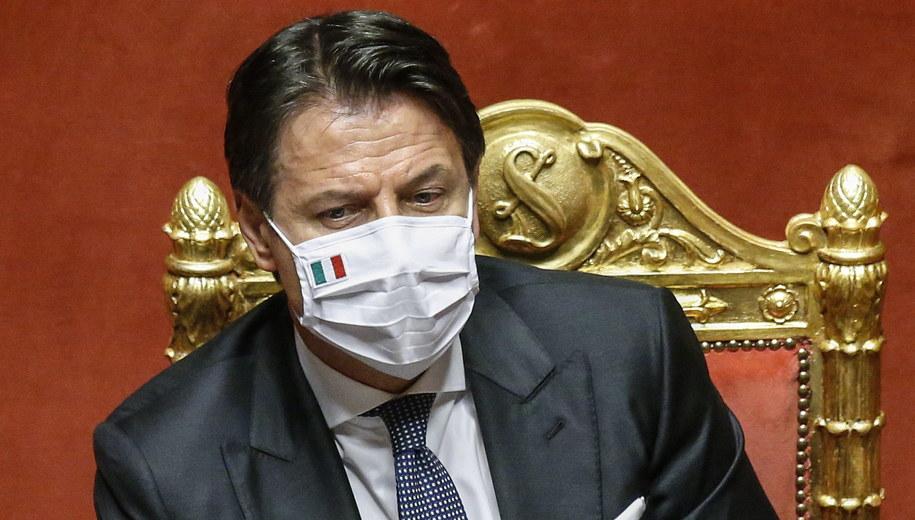 Giuseppe Conte /Fabio Frustaci /PAP/EPA