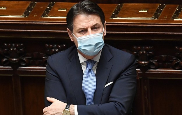 Giuseppe Conte /ETTORE FERRARI / POOL /PAP/EPA