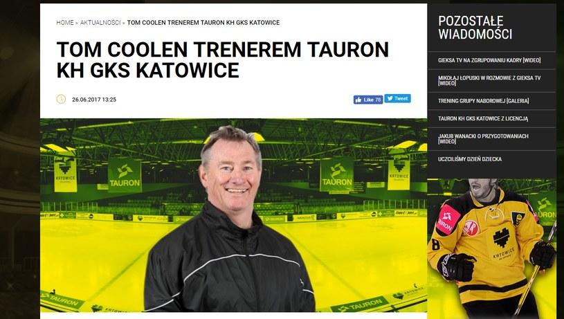 GKS Katowice poinformował o zatrudnieniu nowego szkoleniowca /