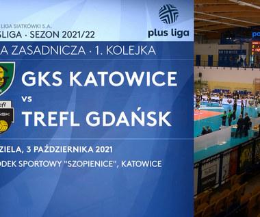 GKS Katowice – Trefl Gdańsk 3:2. SKRÓT. WIDEO