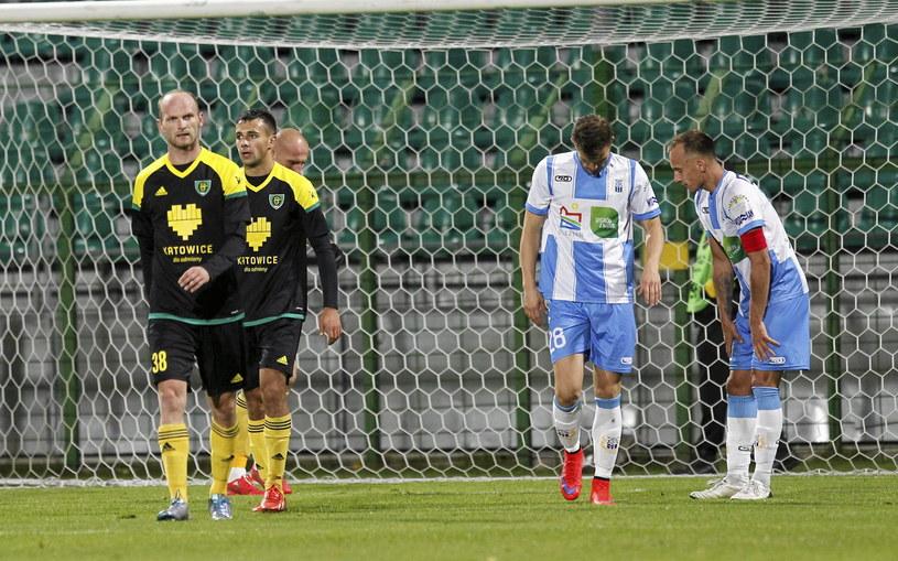 GKS Katowice zremisował ze Stomilem Olsztyn 0-0 /Jan Kowalski /