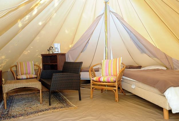 Glamping to nowy turystyczny hit /AFP