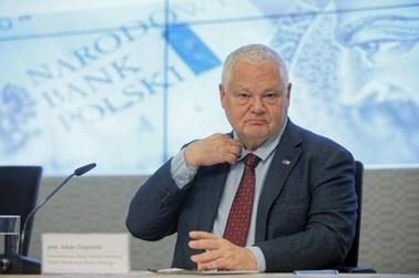 Glapiński: Panika w związku z koronawirusem niesie ryzyko osłabienia koniunktury