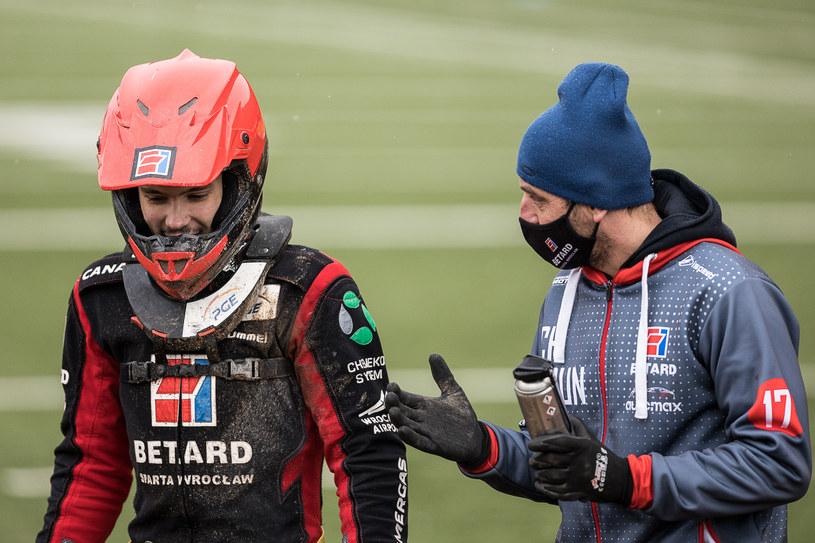 Gleb Czugunow z lewej /Wojciech Tarchalski /Newspix