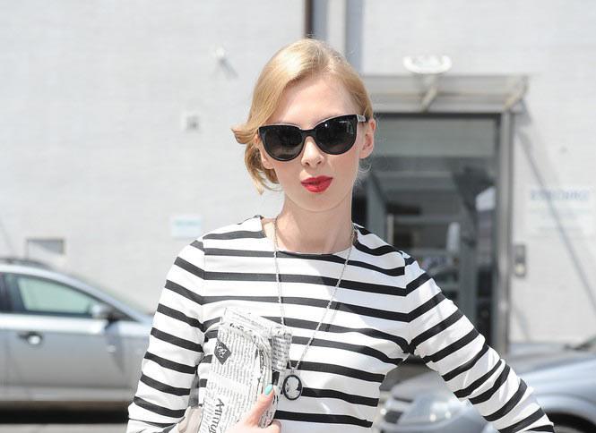 Gliniecka jakp pierwsza polska blogerka została zaproszona na nowojorski Tydzien Mody /VIPHOTO /East News