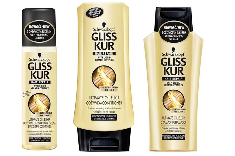 Gliss Kur Ultimate Oil Elixir /Styl.pl/materiały prasowe