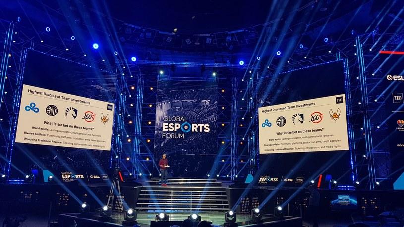 Globa Esports Forum odbyło się na głównej scenie w Spodku. /Tomasz Alicki /ESPORTER