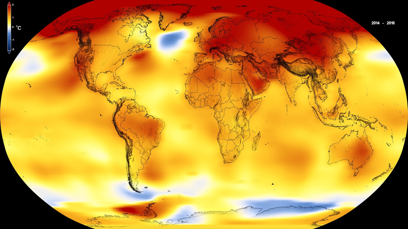 Globalne ocieplenie zawładnęło planetą? Możliwe, że to jego ostatnie podrygi... /East News