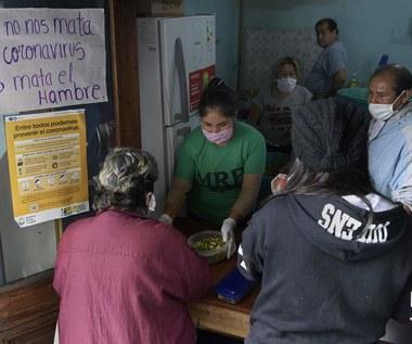 Głód większym zagrożeniem dla biednych niż koronawirus
