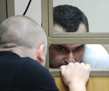 Głodujący reżyser Sencow psuje wielkie widowisko Putinowi