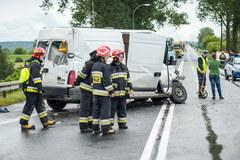 Głogówko Królewskie: Zderzenie autobusu z busem