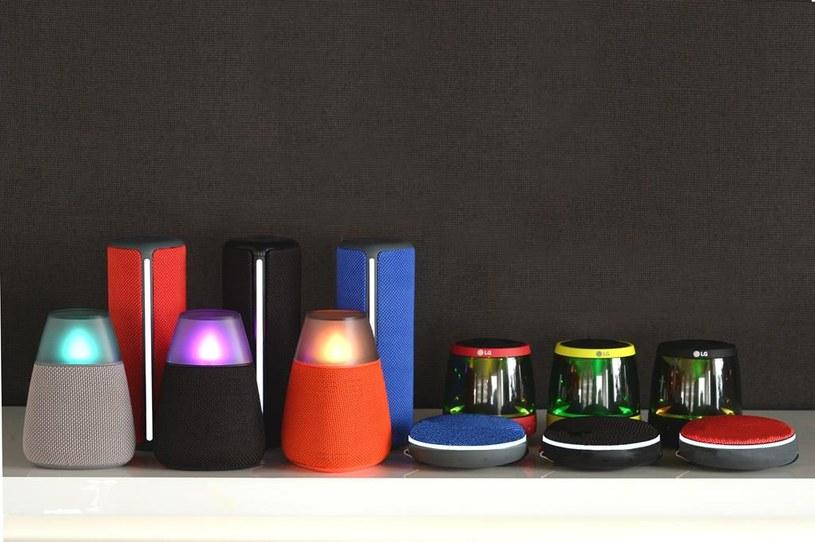 Głośniki LG PH1, PH2, PH3 oraz PH4 /materiały prasowe