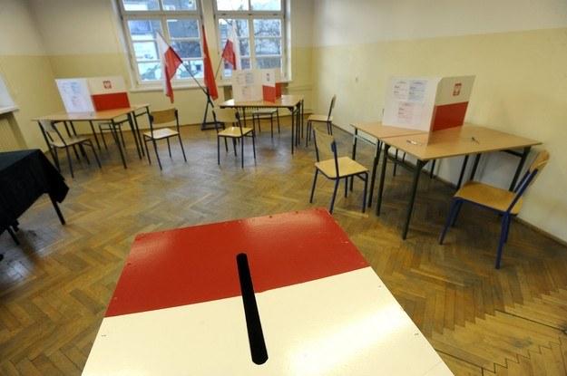 Głosować można było do godz. 21 /Wojciech Stróżyk /Reporter