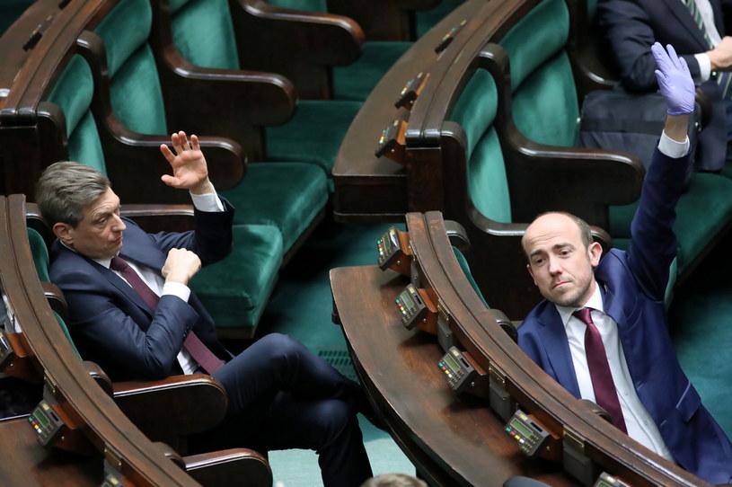 Głosowania w Sejmie /Leszek Szymański /PAP