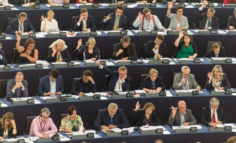 Głosowanie nad rezolucją ws. Polski /Patrick Seeger  /PAP/EPA