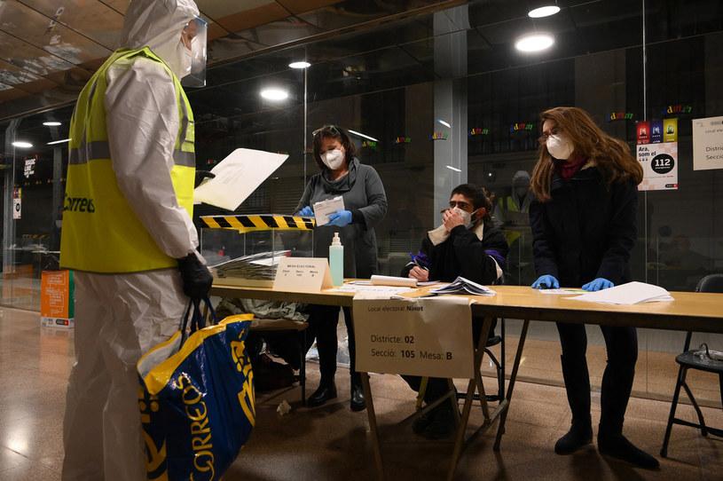 Głosowanie w Barcelonie /LLUIS GENE / AFP /AFP