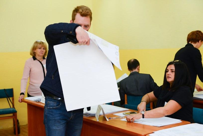 Głosowanie w Bełchatowie /Adam Staśkiewicz /East News