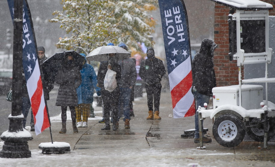 Głosowanie w Bostonie /CJ GUNTHER /PAP/EPA