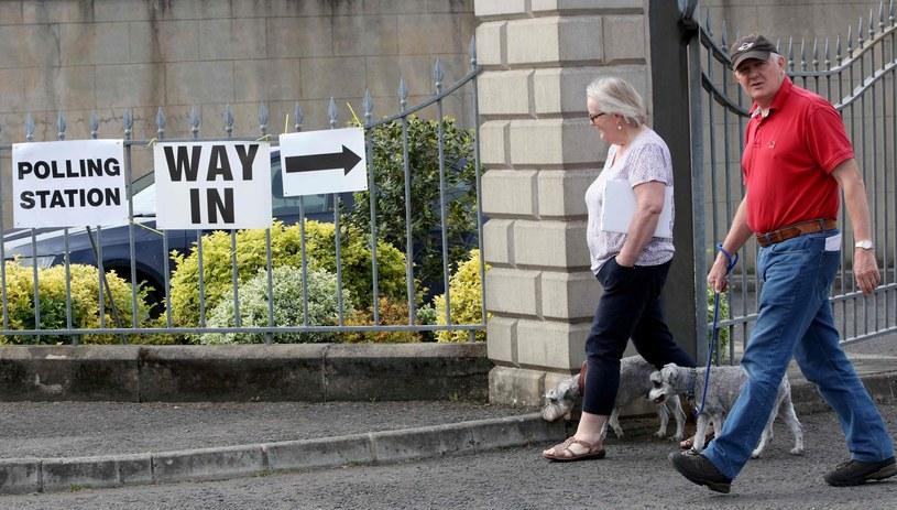 Głosowanie w Irlandii, zdj. ilustracyjne /PAUL FAITH/AFP /East News