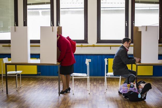 Głosowanie w Ljubljanie /AFP