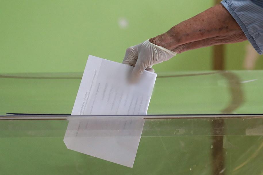 Głosowanie w lokalu wyborczym przy ul. Spartańskiej w Warszawie/ Zdjęcie ilustracyjne /Paweł Supernak /PAP