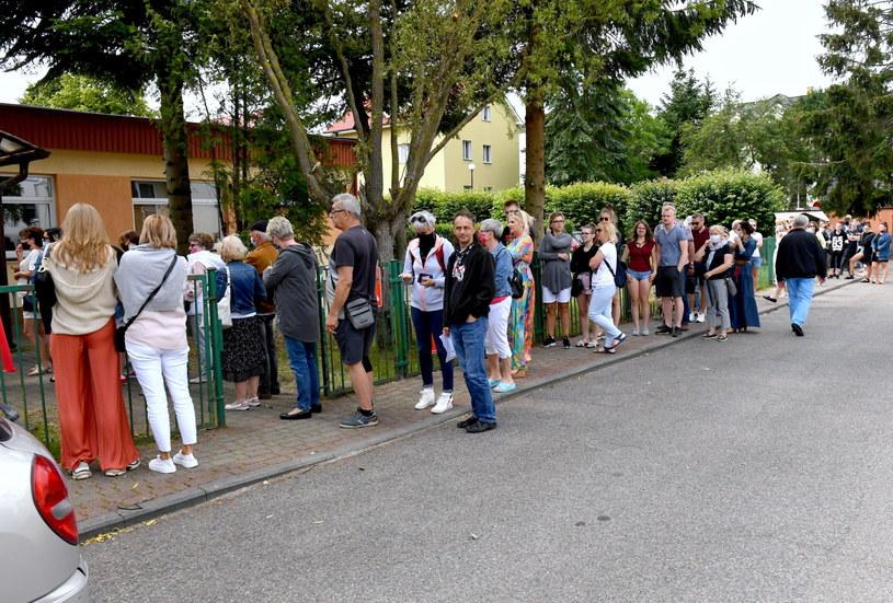 Głosowanie w Rewalu /Marcin Bielecki   /PAP
