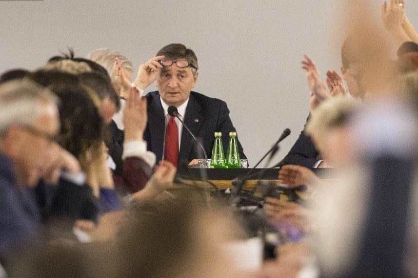 Głosowanie w Sali Kolumnowej /Maciej Luczniewski /Reporter