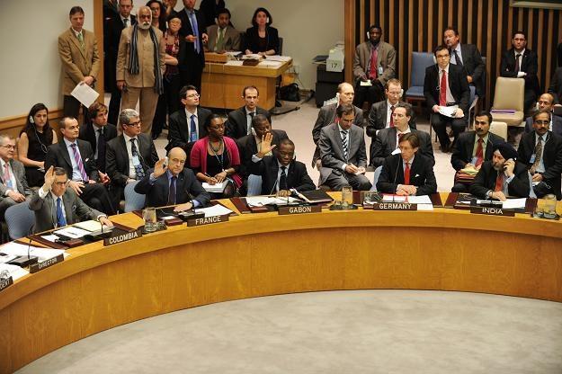 Głosowanie w sprawie rezolucji ONZ /AFP