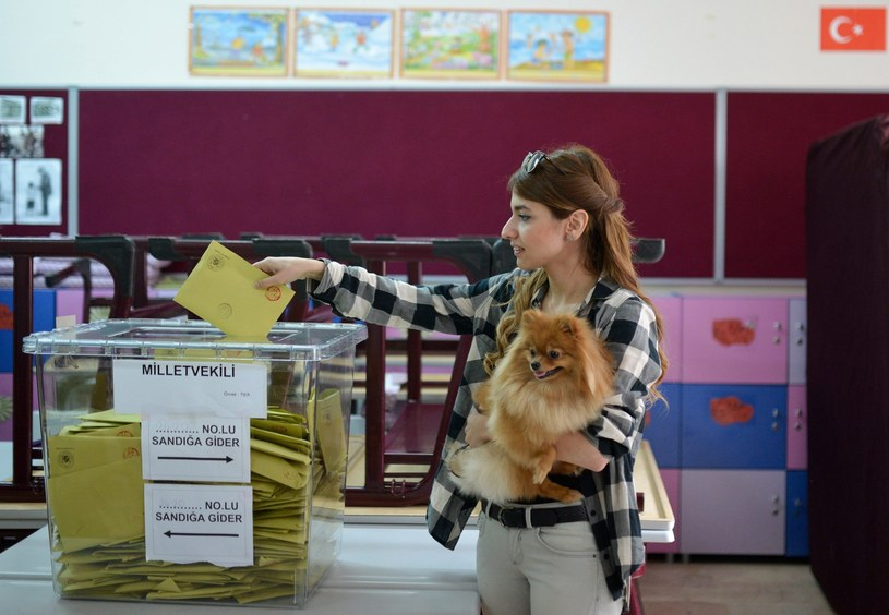 Głosowanie w Turcji /AFP