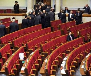 Głosowanie w ukraińskim parlamencie rozbawiło polskich posłów