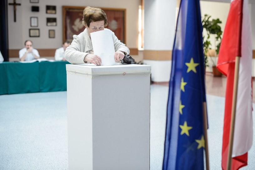 Głosowanie w wyborach do Parlamentu Europejskiego w lokalu wyborczym w Lublinie /Wojciech Pacewicz /PAP