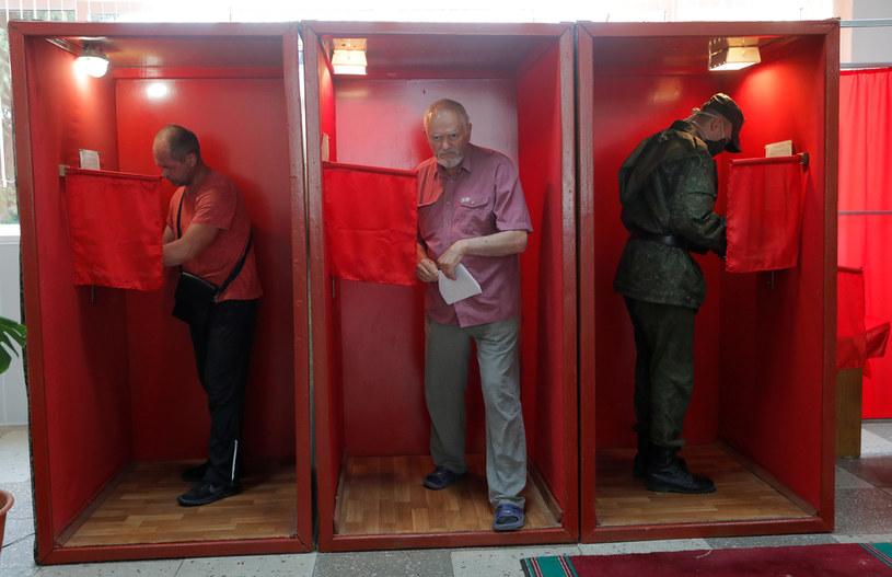 Głosowanie w wyborach prezydenckich na Białorusi /VASILY FEDOSENKO / Reuters / Forum /Agencja FORUM