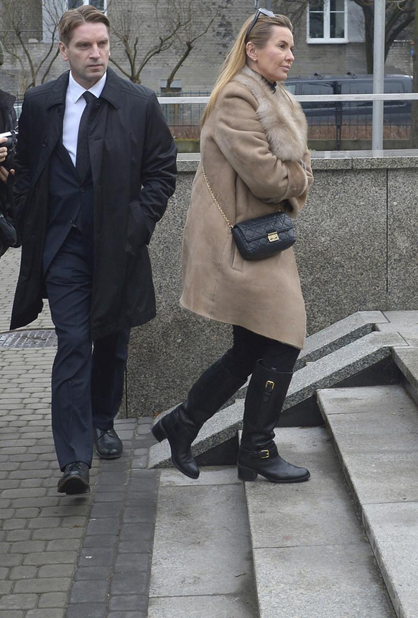 Głosu w obecnej sytuacji jednak nie zabrała Hanna Lis, obecna żona Tomasza /Gałązka /AKPA