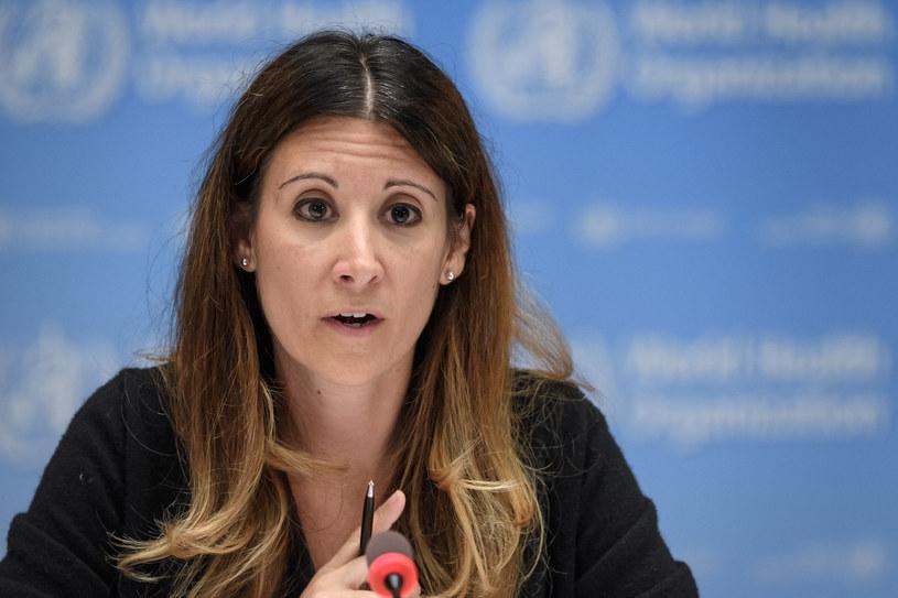 Główna ekspertka WHO ds. epidemii Maria van Kerkhove /Fabrice COFFRINI / POOL /AFP
