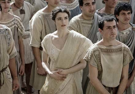 """Główną rolę w """"Agorze"""" gra Rachel Weisz - fot. Forum Film /materiały dystrybutora"""