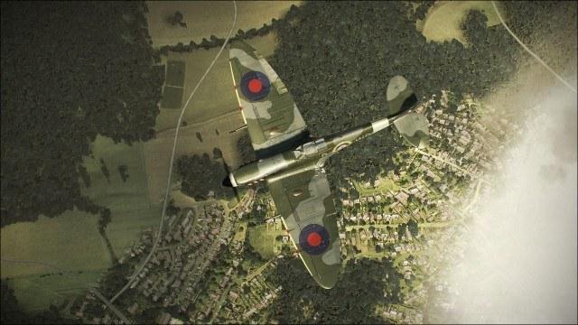 Główną rolę w grze pełnią samoloty wojskowe z II Wojny Światowej /Informacja prasowa
