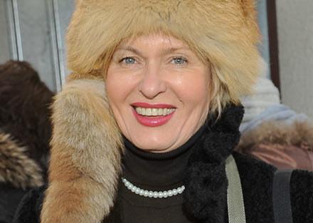 """Główna rolę w """"Królowej śniegu"""" gra Ewa Kasprzyk - fot. P.Przybyszewski /MWMedia"""