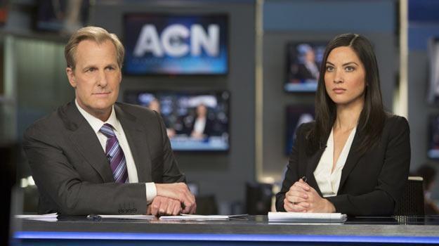"""Główna rolę w serialu """"Newsroom"""" gra Jeff Daniels. /HBO"""