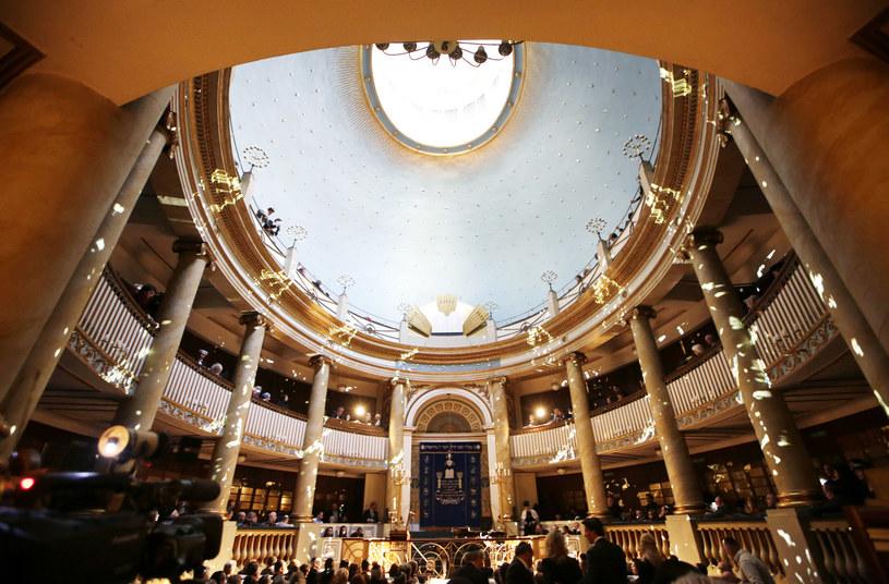 Główna synagoga w Wiedniu /AFP