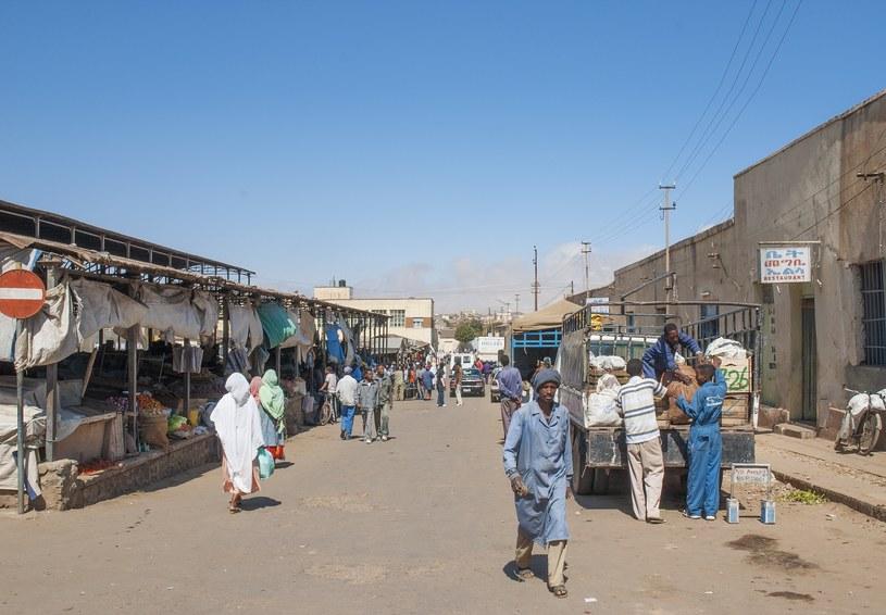 Główna ulica rynku w Asmara, Erytrea /123/RF PICSEL