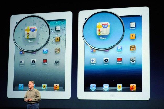 Główna zaleta nowego iPada to świetny ekran /AFP