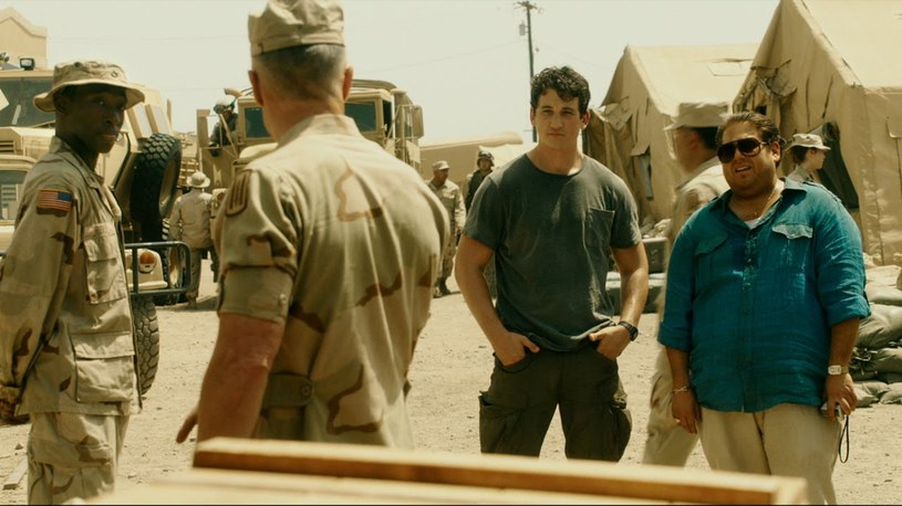"""Główne role w """"Rekinach wojny"""" grają Miles Teller i Jonah Hill /materiały prasowe"""