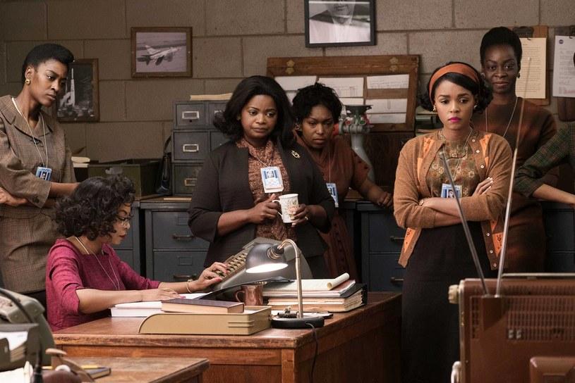 """Główne role w """"Ukrytych działaniach"""" grają Taraji P. Henson, Octavia Spencer i Janelle Monáe /materiały prasowe"""